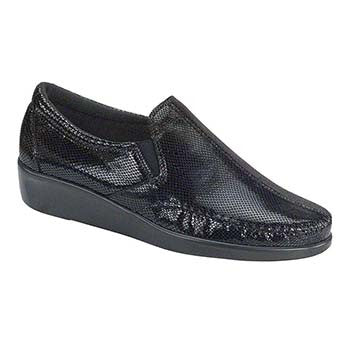SAS Dream Women's Casual Shoe - Black Snake