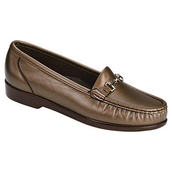 SAS Metro Women's Slip On Loafer - Bronze