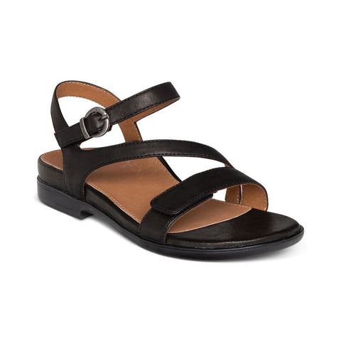 Aetrex Tia Adjustable Quarter Strap Sandal