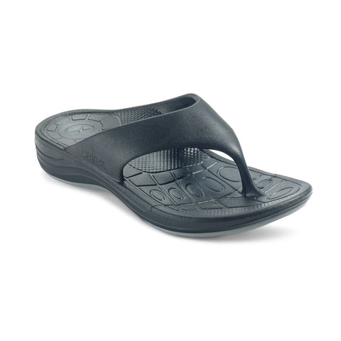 Aetrex Men's Maui Orthotic Flips