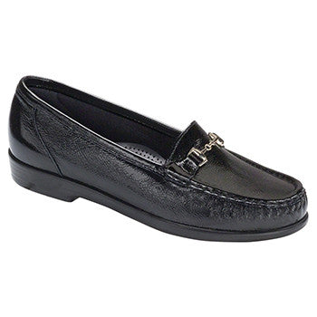 SAS Metro Women's Slip On Loafer - Black Patent