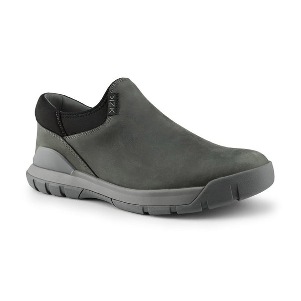 Kizik Alpine Mens Slip On Shoe Ash Grey