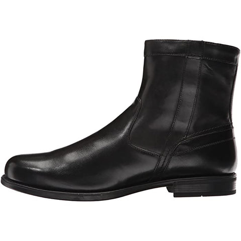 Florsheim Midtown Plain Toe Zipper Boot Black