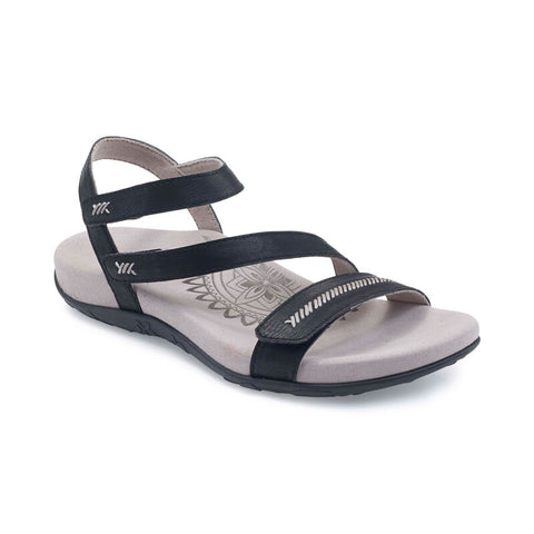 Aetrex Gabby Adjustable Quarter Strap Sandal