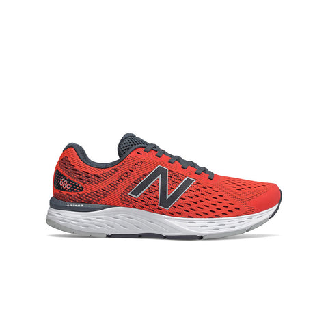 New Balance Men's 680 v6 Running Shoe Dark Blaze