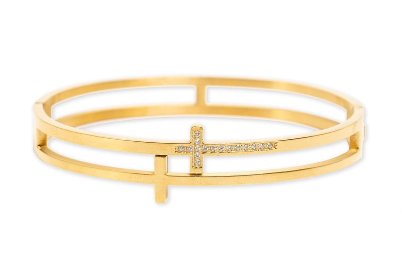 Bracha Always Faithful Bangle