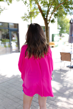 Charcoal Leopard Hoodie Knit Top