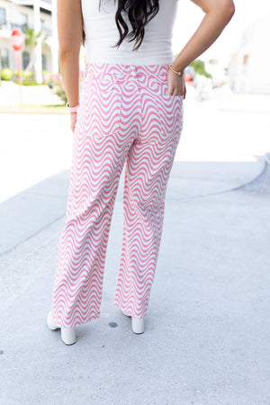 Slouchy Swing Pants in Clay