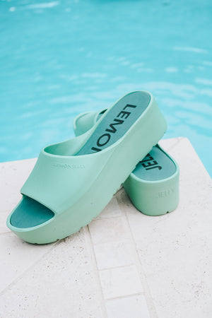 Lemon Jelly Menta Platform Slide