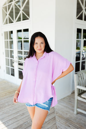 Two Tone Animal Print Pullover
