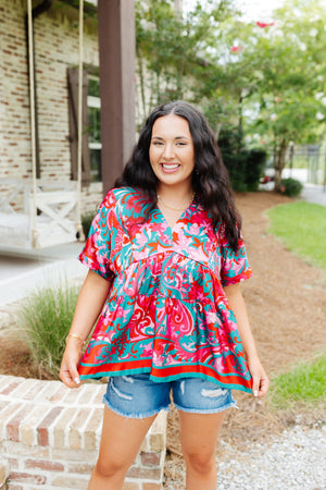 Camel Striped Long Sleeve Tee