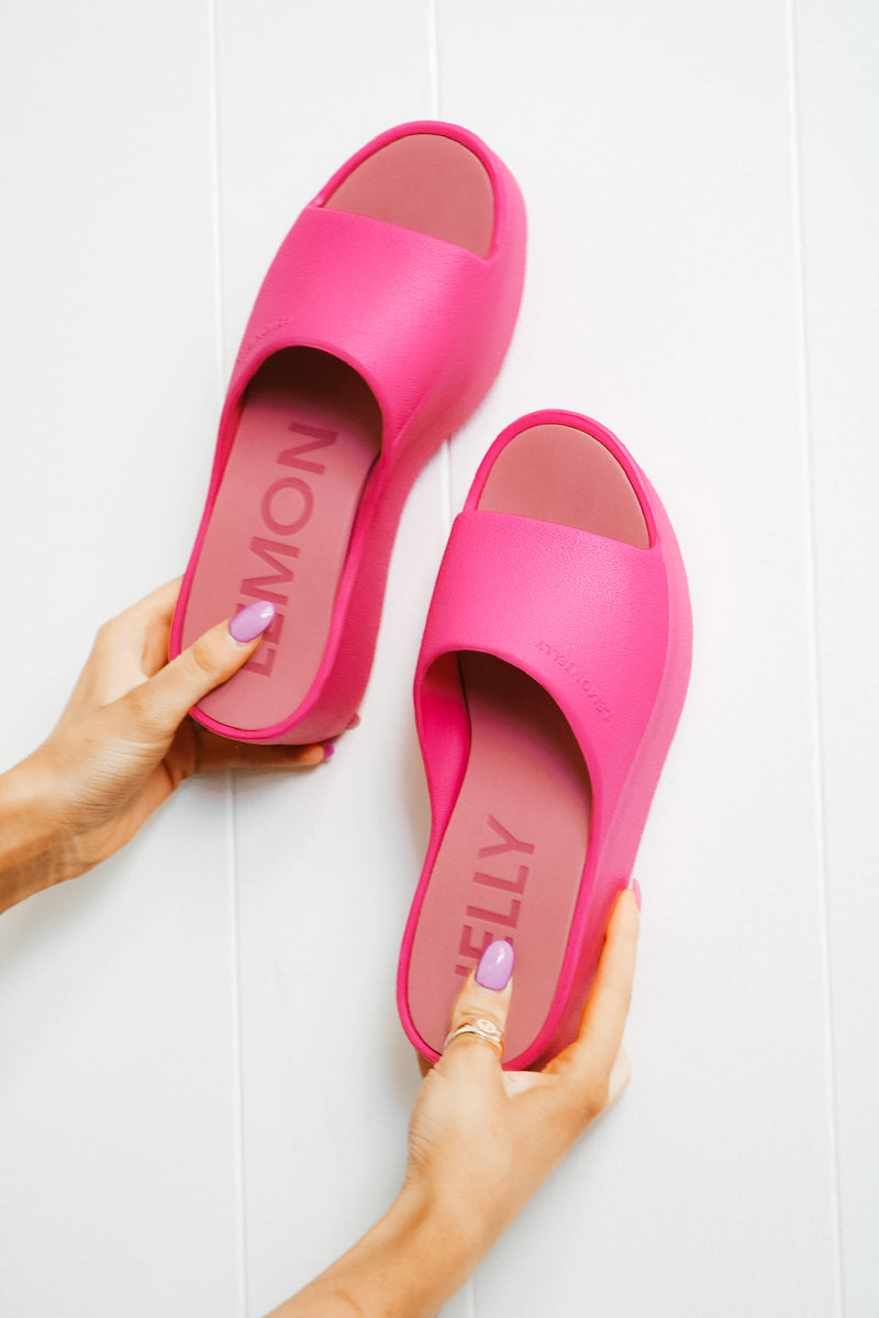 Lemon Jelly Fuchsia Pro Platform Slide