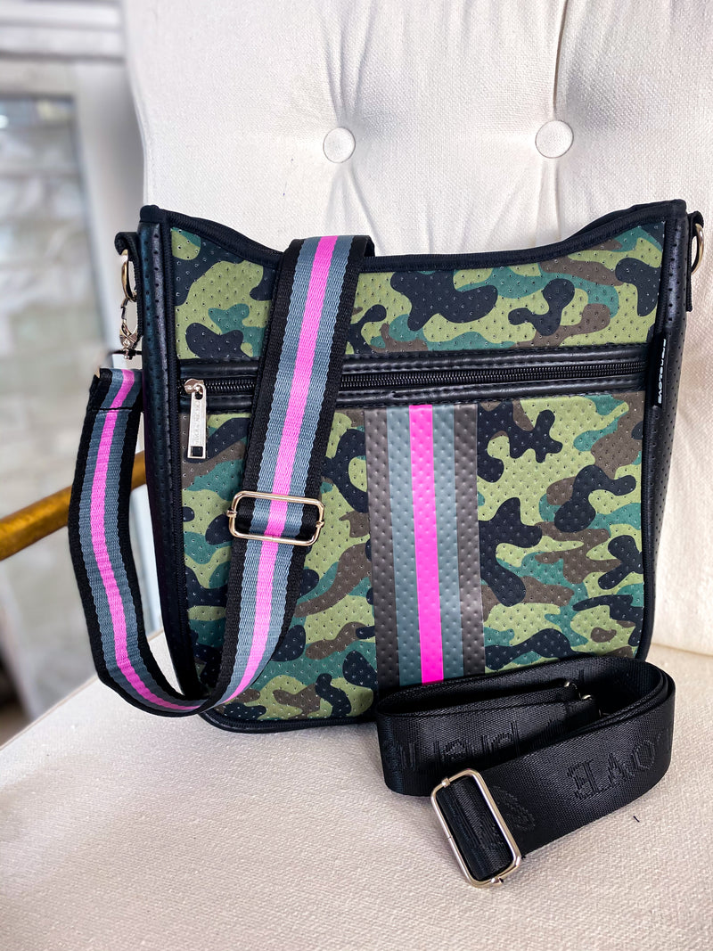 PreneLOVE Pink Army Messenger Bags