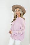 Confetti Cream Bell Sleeve Sweater - Fly Boutique