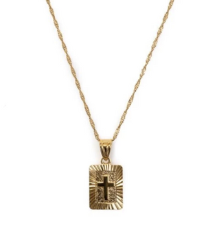 Bracha Truth Card Necklace - Fly Boutique