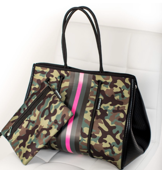 PreneLOVE Pink Army Large Tote