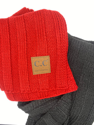 Cable Knit Exclusive Sweater Scarf - Doorbuster