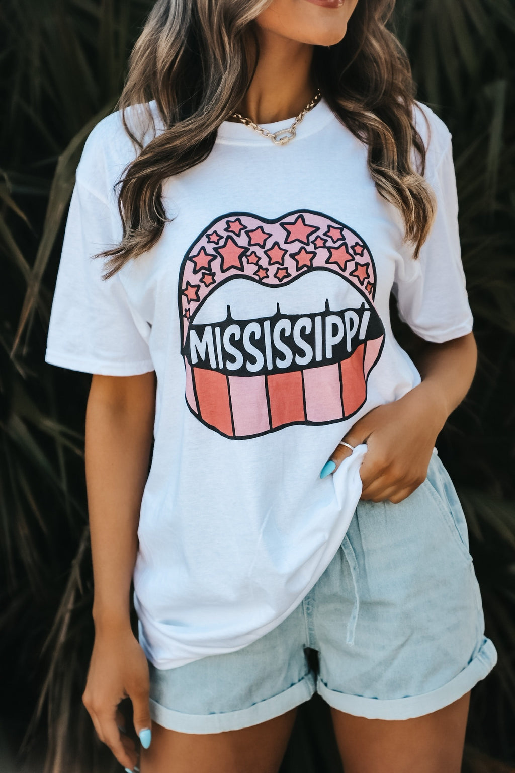 Mississippi Tongue Tee
