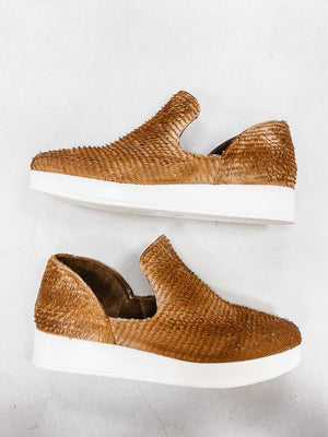 Antelope Stone Textured Sneakers