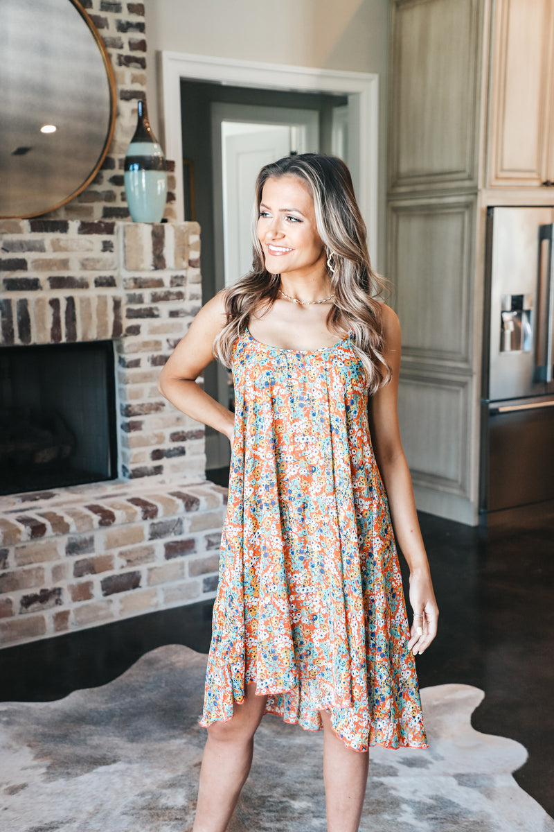 Floral High-Low Sundress