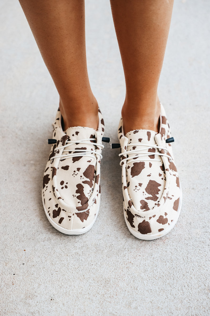 Cow Slip On Loafer Sneaker