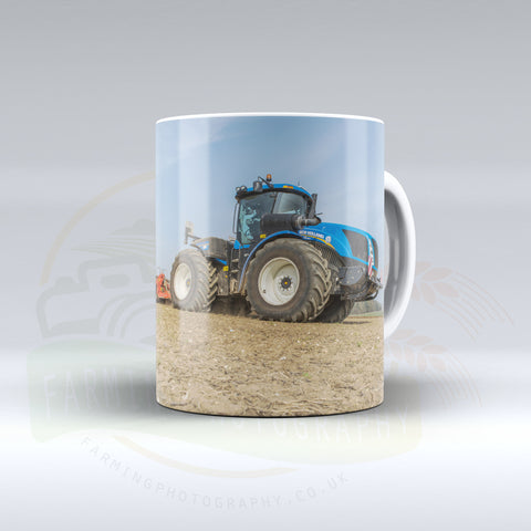 New Holland T9 Cultivating Ceramic Mug.