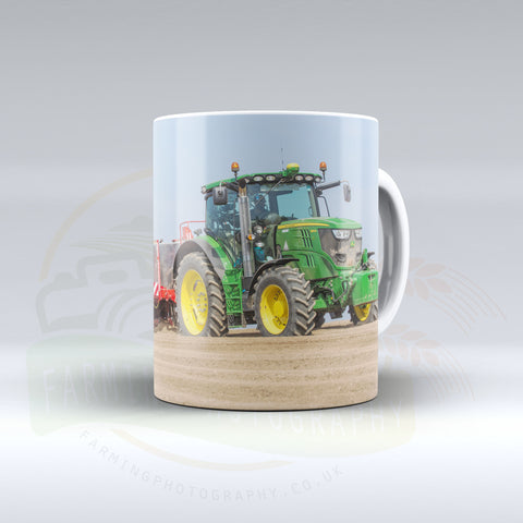 John Deere Planting Potatoes Ceramic Mug.