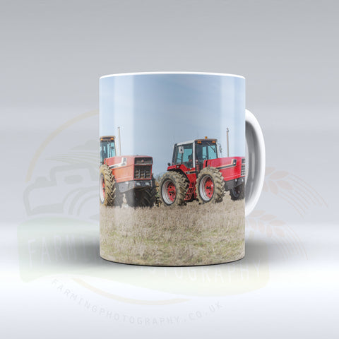 International Snoopy Tractor Ceramic Mug.