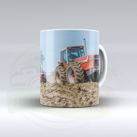 International Snoopy Tractors Ceramic Mug.