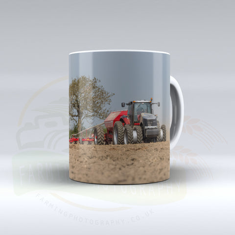 Case IH Magnum Drilling Maize Ceramic Mug. 1.1