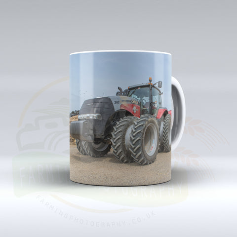 Case IH Magnum Drilling Maize Ceramic Mug.