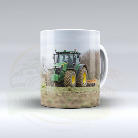 John Deere Cultivating Ceramic mug.