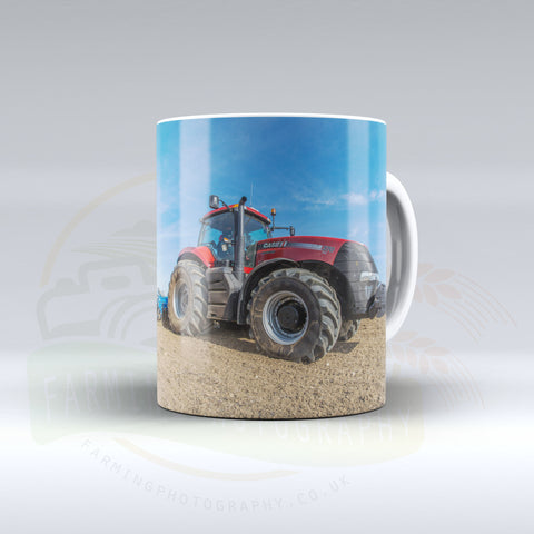 Case IH Cultivating Ceramic mug. 1.1