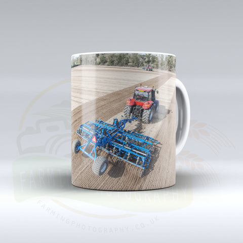 Case IH Cultivating Ceramic mug. 1.2