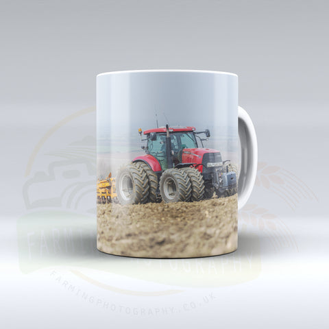Case IH Cultivating Ceramic mug.