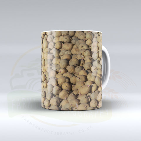 Seed Potatoes Ceramic mug.