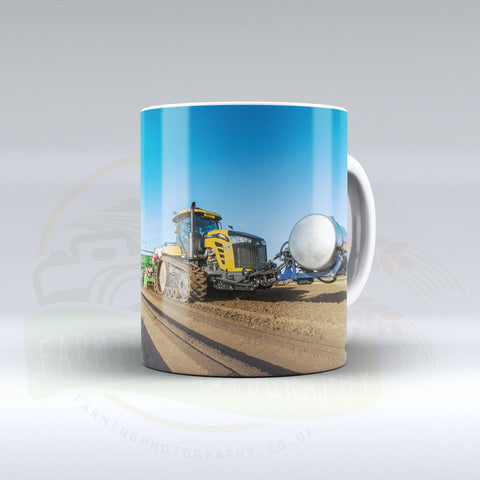 Challenger Planting Potatoes Ceramic mug.