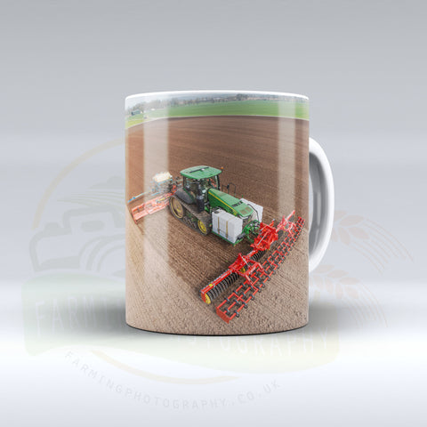 John Deere 8RT Ceramic mug.