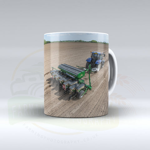 New Holland Drilling Ceramic mug.