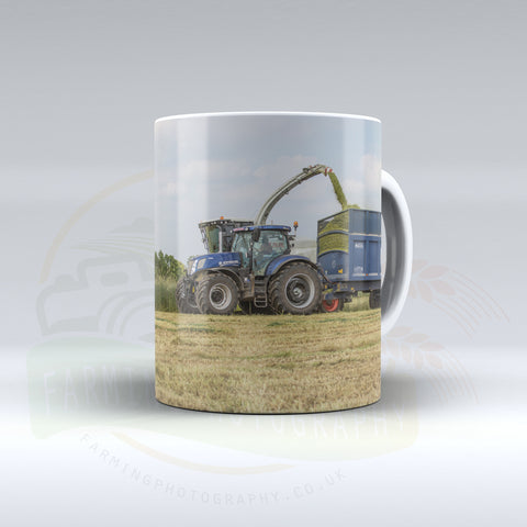 New Holland Ceramic mug.