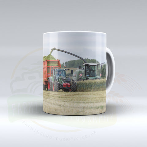 Fendt Equipment Silaging Ceramic mug.
