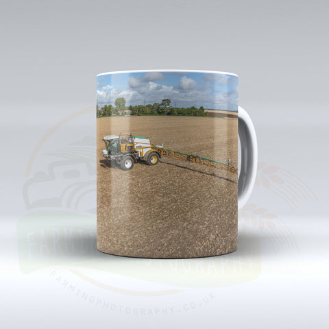 Knight Sprayer Ceramic mug.