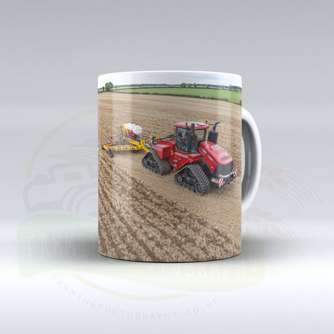 Case IH Quadtrac Ceramic mug.