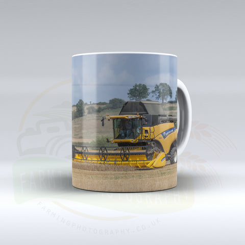 New Holland Combine Ceramic mug.