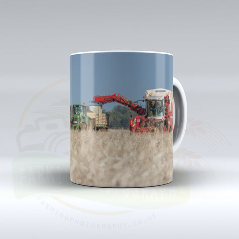 Grimme Potato Harvester Ceramic mug.