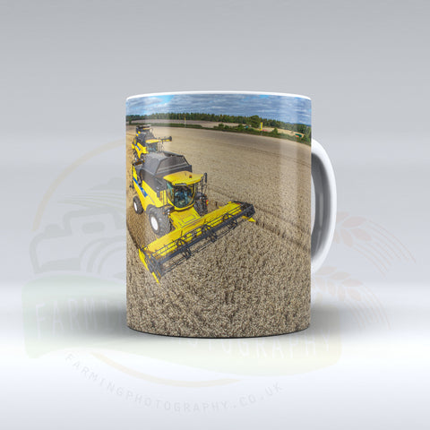 New Holland Combines Ceramic mug.
