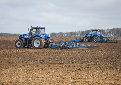 New Holland and Dal-Bo Equipment Poster print
