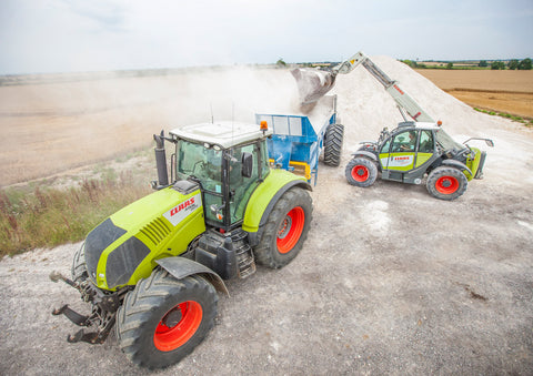 Claas Equipment Poster print