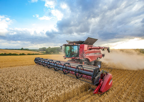 Case IH Axial Flow Combine Poster print