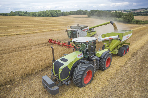 Claas 5000 Xerion Poster print